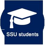 SSU Students commuting