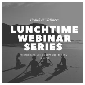 Lunch Webinar Series @ Via Zoom